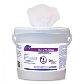 Diversey™ Oxivir TB Disinfectant Wipes, 11 x 12, White