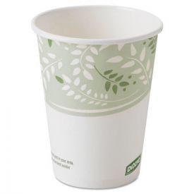 Dixie® EcoSmart Hot Cups, Paper w/PLA Lining, Viridian, 8oz