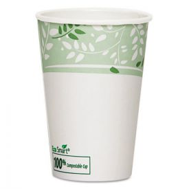 Dixie® EcoSmart Hot Cups, Paper w/PLA Lining, Viridian, 16oz