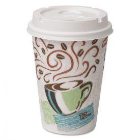Dixie® Paper Hot Cups & Lids Combo Bag, 12oz