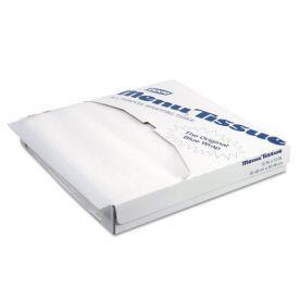 Dixie® Menu Tissue Untreated Paper Sheets, 12 x 12, White