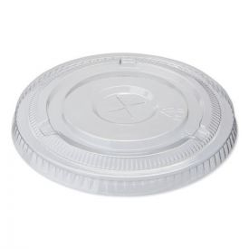 Dixie® Cold Drink Cup Lids, Fits 16oz Plastic Cold Cups, Clear