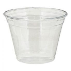 Dixie® Clear Plastic PETE Cups, Cold, 9oz, Squat