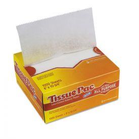 Dixie® Tissue-Pac Lightweight Dry Waxed Interfolding Tissue, 6x10 3/4, White