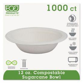 Eco-Products® Renewable & Compostable Sugarcane Bowls - 12oz.