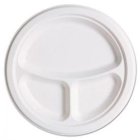Eco-Products® Renewable & Compostble Sugarcane Plates Club Pack - 10