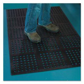ES Robbins® Pro Lite Four-Way Drain Mat, 36 x 60, Black