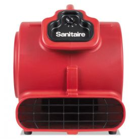 Sanitaire® DRY TIME Air Mover, 3758 fpm, Red, 20ft Cord
