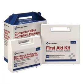First Aid Only™ Kit for 50 People, 229-Pieces, ANSI/OSHA Compliant, Plastic Case