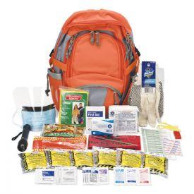 Pac-Kit® All Terrain First Aid Kit, 112 Pieces, Ballistic Nylon, Red