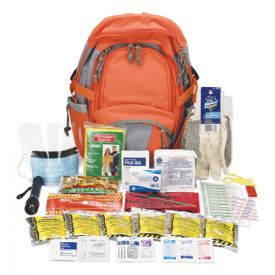 PhysiciansCare® by First Aid Only® Emergency Preparedness First Aid Backpack, 63 Pieces