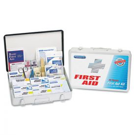 PhysiciansCare® by First Aid Only® First Aid Kit for up to 75 People, Metal, 419 Pieces