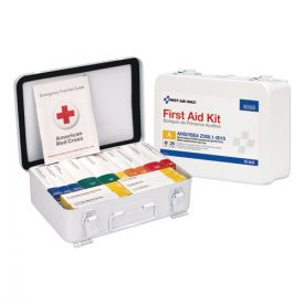 First Aid Only™ Unitized ANSI Compliant Class A Type III Kit for 25 People, 16 Units