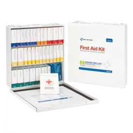First Aid Only™ Unitized ANSI Compliant Class B Type III Kit for 100 People, 54 Units