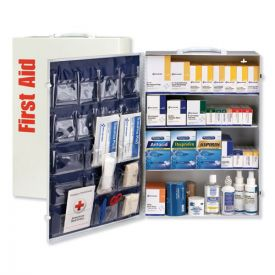 First Aid Only™ ANSI Class B+ 4 Shelf Station with Medications, 1437 Pieces
