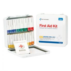 First Aid Only™ Unitized ANSI Class A Weatherproof Kit for 50 People, 24 Units