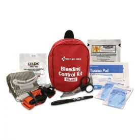 First Aid Only™ Deluxe Pro Bleeding Control Kit, 5 x 7 x 4