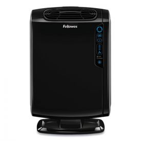 Fellowes® HEPA and Carbon Filtration Air Purifiers, 200-400 sq ft Room Capacity, Black