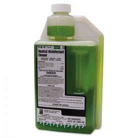 Franklin Cleaning Technology® T.E.T. Neutral Disinfectant Cleaner, Apple Scent, Liquid, 2 qt.