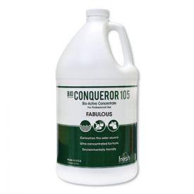 Fresh Products Bio Conqueror 105 Enzymatic Odor Counteractant Concentrate, Lavendar, 4-1gal.