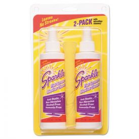 Sparkle Flat Screen & Monitor Cleaner, Pleasant Scent, 8oz. 6ct