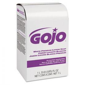GOJO® White Premium Lotion Soap, Spring Rain Scent, NXT 1000 mL Refill