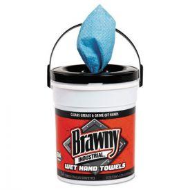 Brawny Industrial® Wet Hand Towels, 12 1/5
