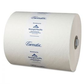 Georgia Pacific® Professional Hardwound Roll Towels, 8 1/4 x 700ft, White
