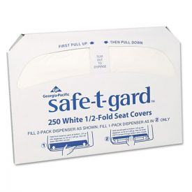 Georgia Pacific® Professional Half-Fold Toilet Seat Covers