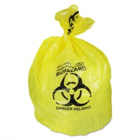 Heritage Healthcare Biohazard Printed Can Liners, 30 gal, 1.3 mil, 30