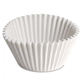 Hoffmaster® Fluted Bake Cups, 2 1/4 dia x 1 7/8h, White