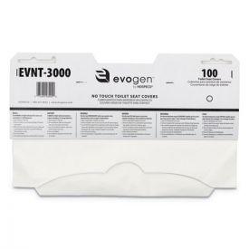HOSPECO® Evogen No Touch Toilet Seat Covers, 15 1/2