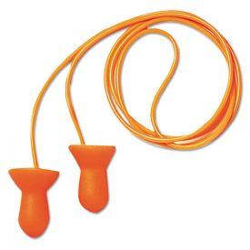 Howard Leight® by Honeywell Quiet Multiple-Use Earplugs, Corded, 26NRR, Orange/Blue