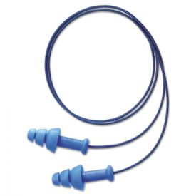 Howard Leight® by Honeywell SmartFit Detectable Triple Flange Earplug, 25NRR