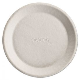 Chinet® Savaday Molded Fiber Plates, 10