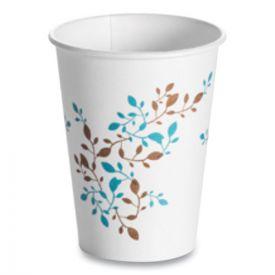 Huhtamaki Single Wall Hot Cups 12 oz, Vine