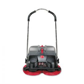 Hoover® Commercial SpinSweep Pro Outdoor Sweeper, Black