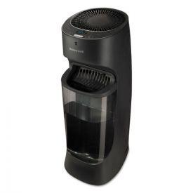 Honeywell Top Fill Tower Cool Mist Humidifier, 1.7 gal, 9.8w x 8.7d x 24.7h, Black