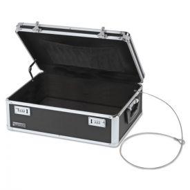 Vaultz® Locking Storage Chest, 14 1/2 x 8 x 19 1/2, Black