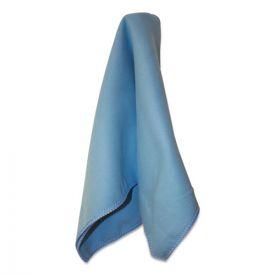 Impact® Lightweight Microfiber Cloths, 16 x 16, Blue, 216