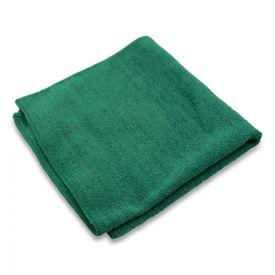 Impact® Lightweight Microfiber Cloths, 16 x 16, Green, 240