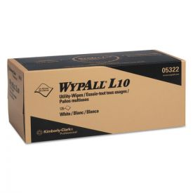 WypAll® L10 Towels POP-UP Box, 1Ply, 12x10 1/4, White
