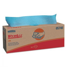 WypAll® L40 Towels, POP-UP Box, Blue, 16 2/5 x 9 4/5