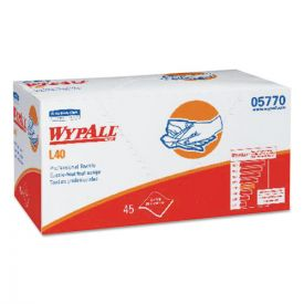 WypAll® L40 Towels, Pro Towels, 12 x 23, White