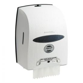 Kimberly-Clark Professional* Sanitouch Hard Roll Towel Dispenser, 12.63wx10.2dx16.13h White