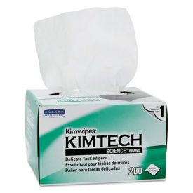 Kimtech™ Kimwipes Delicate Task Wipers, 1-Ply, 4 2/5 x 8 2/5
