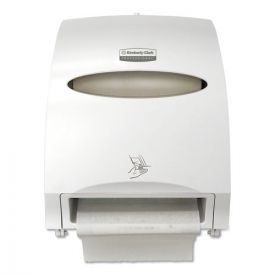 Kimberly-Clark Professional* Electronic Towel Dispenser, 12.7w x 9.572d x 15.761h, White