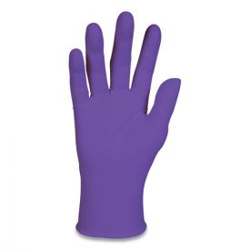 Kimberly-Clark Professional* PURPLE NITRILE Gloves, Purple, 242 mm Length, Small, 6 mil