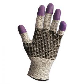 KleenGuard™ G60 Purple Nitrile Gloves, 230 mm Length, Medium/Size 8, Black/White