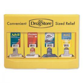 Lil' Drugstore® Single-Dose Medicine Dispenser, 105-Pieces, Plastic Case, Yellow